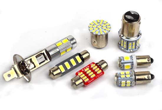 Автолампы светодиодные SMD 24В, LED 24B