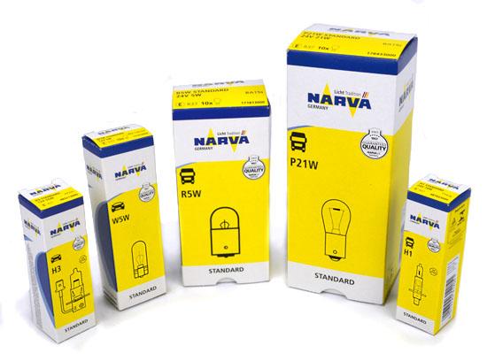 Автолампы NARVA 12В