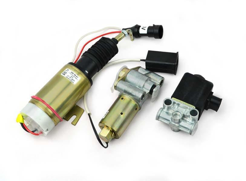 Клапаны электромагнитные