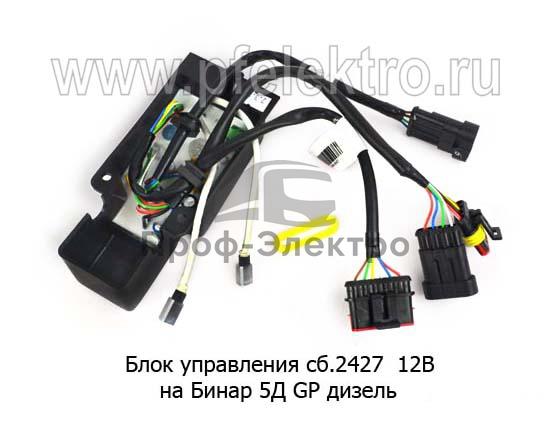 Блок управления на Бинар 5Д GP дизель (Адверс) 0