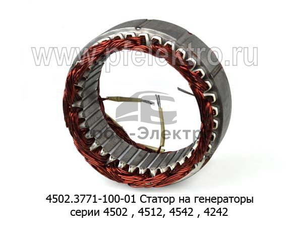Статор на генераторы серии 4502 , 4512, 4542 , 4242, 4532  (Прамо) 1