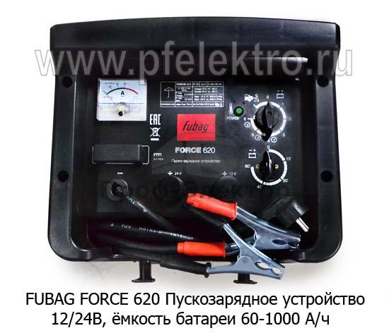 Пускозарядное устройство, питание 220В, ёмкость батареи 60-1000 А/ч 1