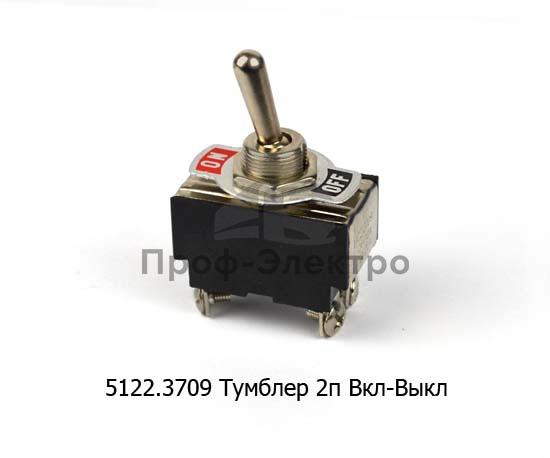 Тумблер 2 п. Вкл-Выкл, 2 полюса, винт 24В/10А, 12В/20А (250В/6А) все т/с (К) 1