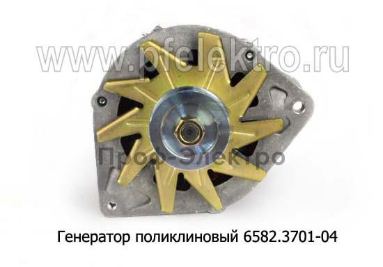 Генератор поликлиновый для камаз-53215,-55111,-65115 без ЭФУ (Евро-2) (АТЭ-1) 1