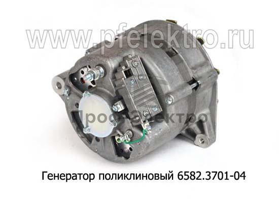 Генератор поликлиновый для камаз-53215,-55111,-65115 без ЭФУ (Евро-2) (АТЭ-1) 2