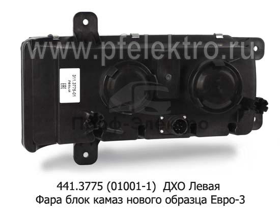 Фара блок камаз 6520, 6511, 4308 нового образца Евро-3 (К) 2