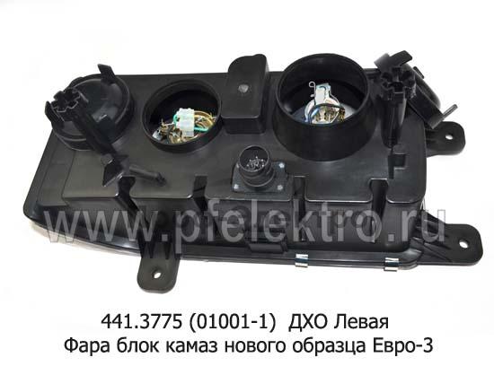 Фара блок камаз 6520, 6511, 4308 нового образца Евро-3 (К) 3