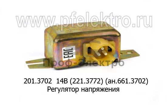 Регулятор напряжения ЗИЛ-130, -131, 133, КАЗ (Ромб) 0