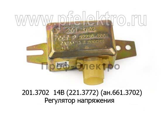 Регулятор напряжения ЗИЛ-130, -131, 133, КАЗ (Ромб) 1