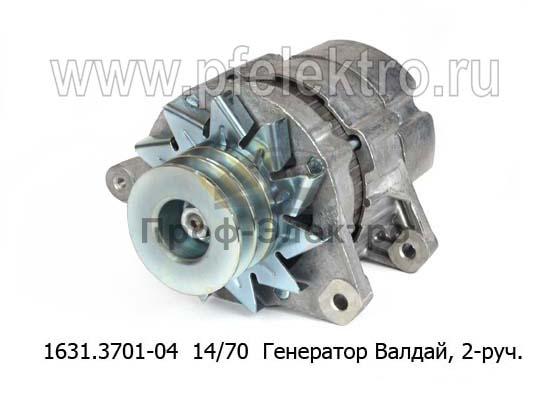 Генератор ГАЗ-31104 Валдай (двигатель ММЗ Д245.7), 2-руч. (ЗиТ) 0