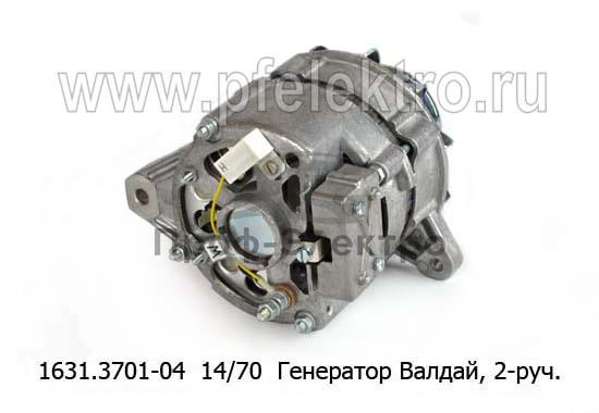 Генератор ГАЗ-31104 Валдай (двигатель ММЗ Д245.7), 2-руч. (ЗиТ) 2