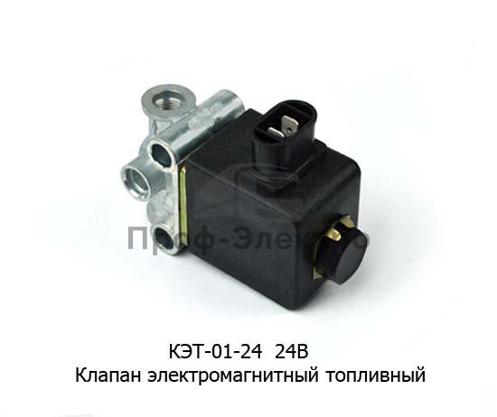 Клапан электромагнитный топливный (Объединение Родина) 0