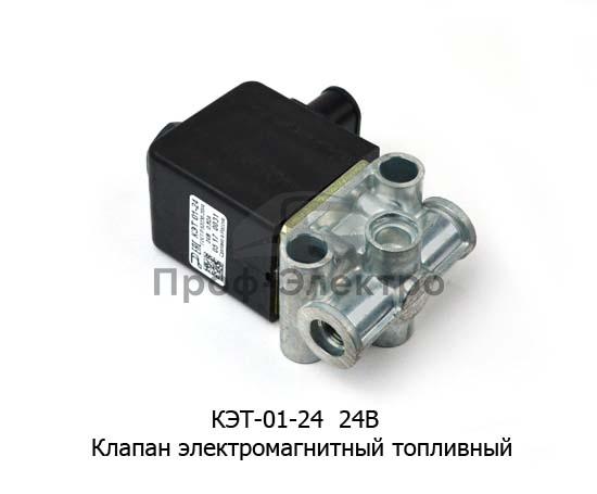 Клапан электромагнитный топливный (Объединение Родина) 1