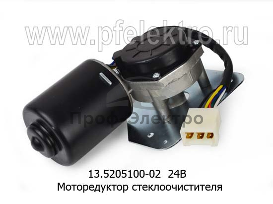 Моторедуктор стеклоочистителя маз, белаз (АМ) 0