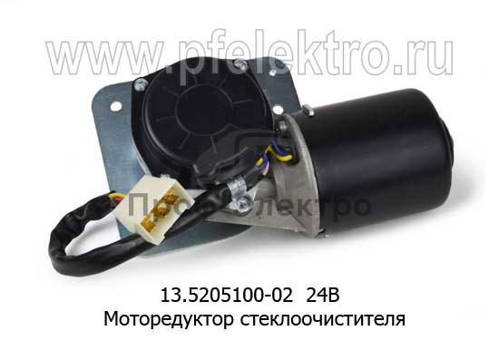 Моторедуктор стеклоочистителя маз, белаз (АМ) 2