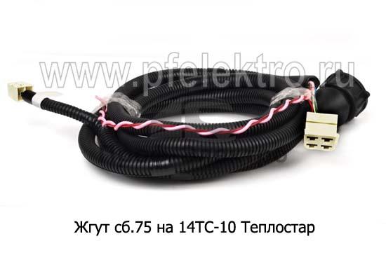 Жгут на 14ТС-10 Теплостар 12/24В  (Адверс) 0