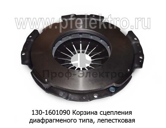 Корзина сцепления ЗИЛ-130, диафрагменого типа, лепестковая (Автомагнат) 1