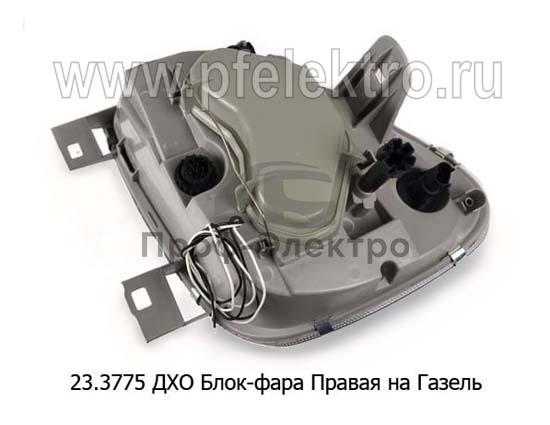 Фара блок для Газель-3302, -2217, LED (К) 1