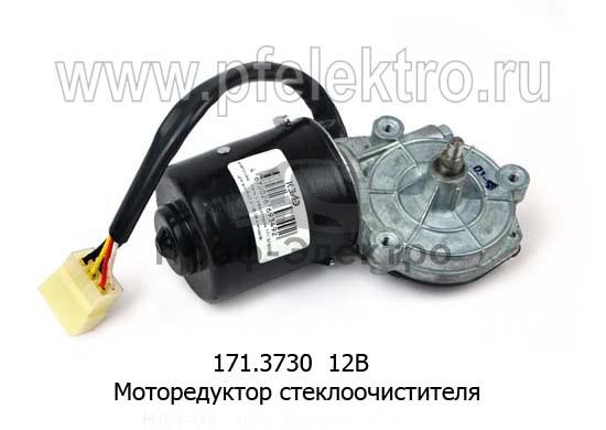 Моторедуктор стеклоочистителя ВАЗ-08, -09, Газель, Соболь (КЗАЭ) 1