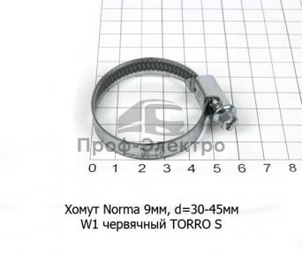 Хомут червячный W1 TORRO S