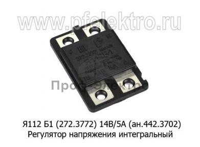 Регулятор напряжения интегр. МТЗ, ТДТ-55, ДТ-75С, Т-16М, Т-25АЗ, Т-30 с Г46.3701, 15.3701, 96.3701 (Ромб)
