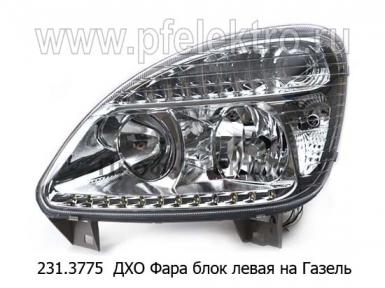 Фара блок для Газель-3302, -2217, LED (К)