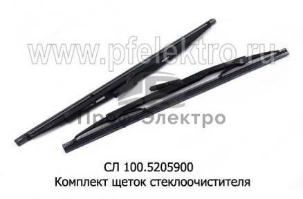 Щетка стеклоочистителя ЗИЛ-130, ГАЗ-53 (к-т)